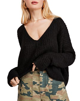 Free People - Moonbeam Cropped Sweater