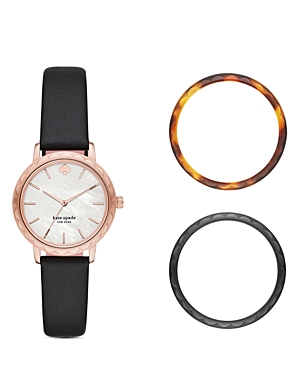kate spade new york Morningside Mother-of-Pearl Dial Watch Gift Set, 34mm-Jewelry & Accessories