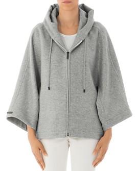 Peserico - Hooded Wool-Blend Coat