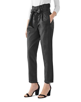 DL1961 - Susie Paper-Bag High-Waist Jeans in Domines