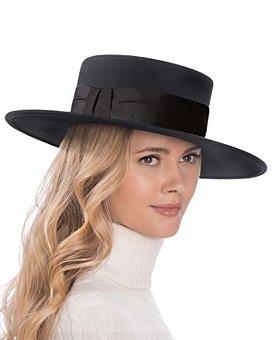 Eric Javits - Wool Gaucho Hat