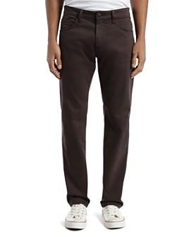Mavi - Zach Straight Fit Pants in Black Coffee Sateen