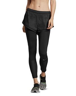 adidas by Stella McCartney - Essentials Shorts-Overlay Leggings