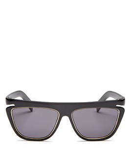Fendi - Women's Flat Top Square Sunglasses, 55mm