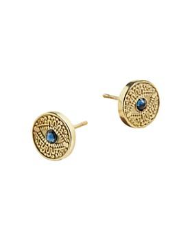 Alex and Ani - Evil Eye Earrings