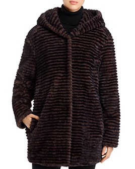 Capote - Faux-Fur Hooded Jacket