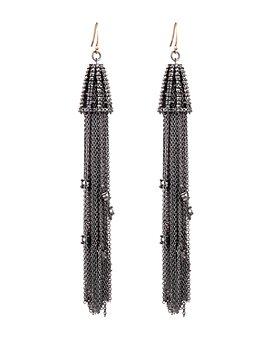 Alexis Bittar - Crystal Tassel Earrings