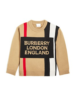Burberry - Boys' Rolfe Logo Sweater - Little Kid, Big Kid