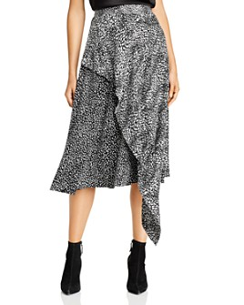 Alice and Olivia - Danita Asymmetric Midi Skirt