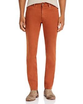 Z Zegna - Stretch Denim Slim Fit Jeans