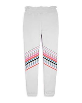 WILDFOX - Girls' Malibu Striped Jogger Pants - Big Kid