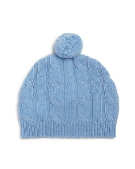 Bloomie's - Boys' Cashmere Pom-Pom Hat, Baby - 100% Exclusive