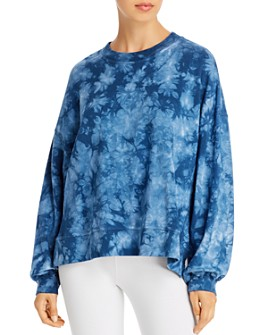 Electric & Rose - Niel Tie-Dye Fleece Sweatshirt