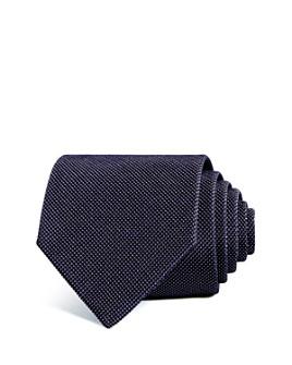 Armani - Micro Dot Silk Wide Tie