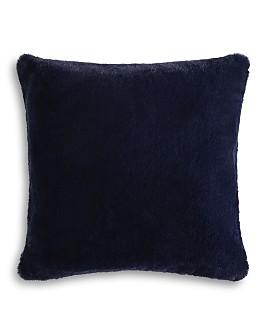 Hudson Park Collection - Faux Fur Decorative Pillow Collection - 100% Exclusive