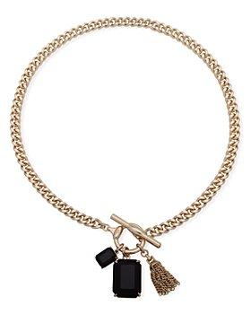 """Ralph Lauren - Stone Charm Pendant Necklace, 17"""""""