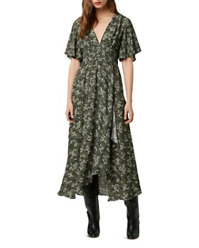 FRENCH CONNECTION - Ansa Floral-Print Crepe Maxi Dress