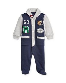 Ralph Lauren - Boys' Varsity Patch Footie - Baby
