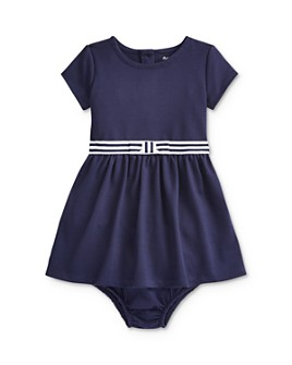 Ralph Lauren - Girls' Ponte Fit-and-Flare Dress - Baby
