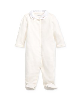 Ralph Lauren - Girls' Velour Footie - Baby