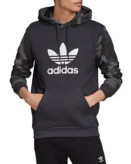 adidas Originals - Camo Trefoil Hooded Sweatshirt
