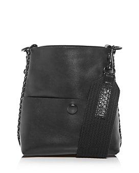 Callista - Grace Slim Leather Mini Messenger Bag