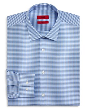 HUGO - Check Pattern Slim Fit Dress Shirt