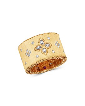 Roberto Coin - 18K Yellow Gold Venetian Princess Diamond Ring