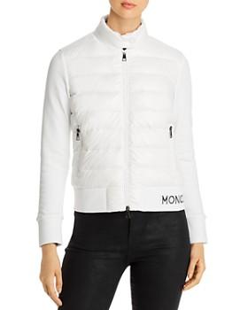 Moncler - Mixed-Media Down Jacket