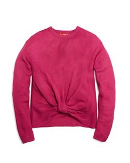 AQUA - Girls' Knot-Front Sweater, Big Kid - 100% Exclusive
