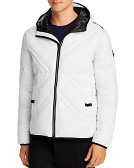 KARL LAGERFELD Paris - X-Quilted Packable Puffer Jacket