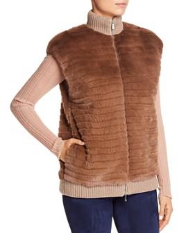 Lafayette 148 New York - Larkin Mink Fur Vest
