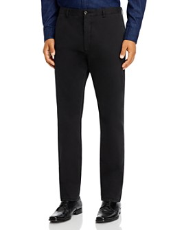 Zanella - Noah Garment-Dyed Brushed Slim Fit Dress Pants