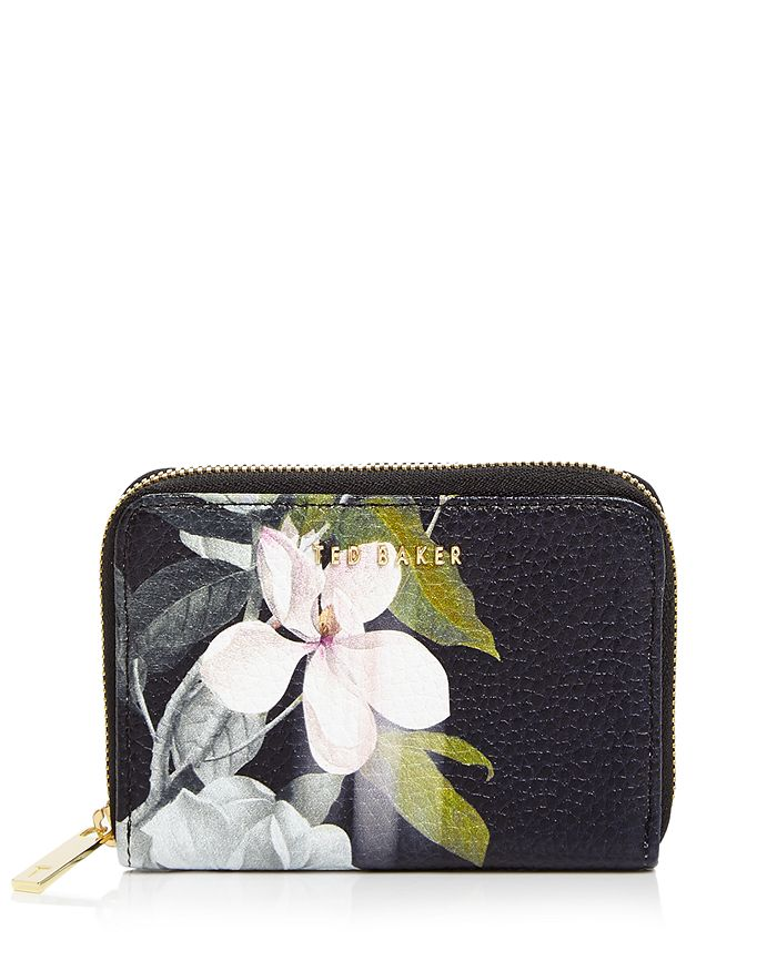 Ted Baker - Baize Opal Zip-Around Mini Leather Wallet
