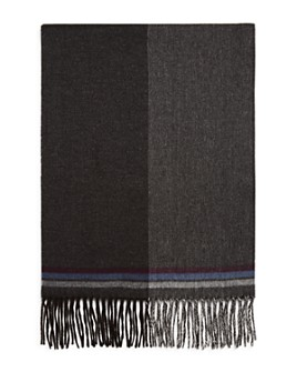 The Men's Store at Bloomingdale's - Block Border-Striped Scarf - 100% Exclusive
