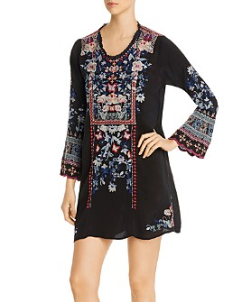 Johnny Was - Gerona Embroidered Tunic Dress