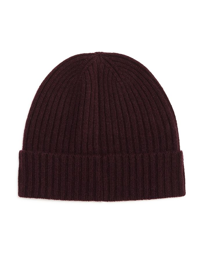 The Men's Store at Bloomingdale's - Ribbed Cashmere Cuff Hat - 100% Exclusive