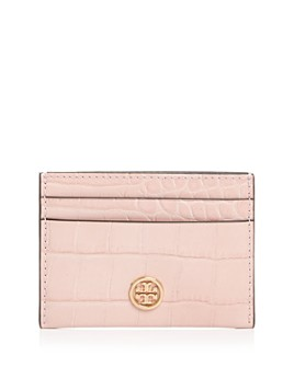 Tory Burch - Robinson Embossed Leather Card Case