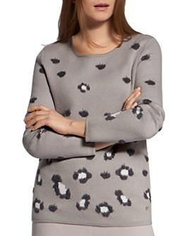 BASLER - Animal-Print Sweater