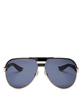Dior - Men's DiorForerunner Brow Bar Aviator Sunglasses, 61mm