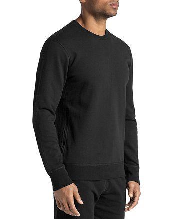 REIGNING CHAMP - Side-Zip Crewneck Sweatshirt