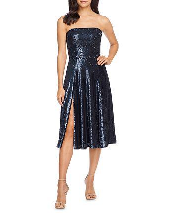 Dress the Population - Ruby Sequin Midi Dress