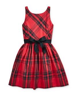 Ralph Lauren - Girls' Plaid Taffeta Dress - Big Kid