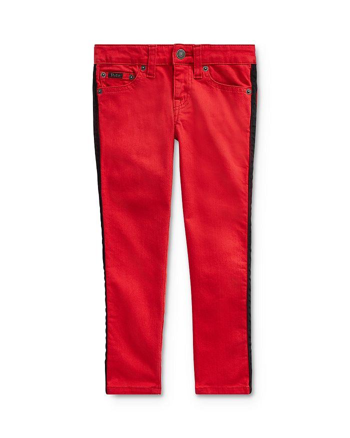 Ralph Lauren - Girls' Tompkins Striped Skinny Jeans - Little Kid