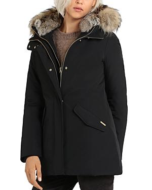 Woolrich Valentine Fur Trim Parka-Women