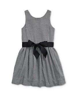 Ralph Lauren - Girls' Houndstooth Print Dress - Little Kid