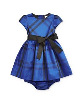 Ralph Lauren - Girls' Plaid Taffeta Dress & Bloomers Set - Baby