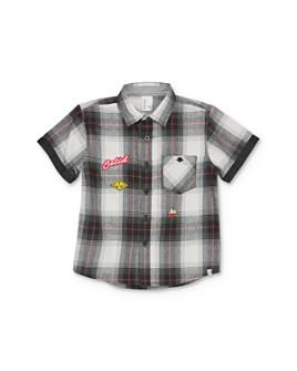 Sovereign Code - Boys' Gellar Plaid Camp Shirt - Little Kid, Big Kid