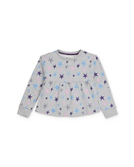 Mini Series - Girls' Alicia Star Print Empire-Waist Sweatshirt, Little Kid - 100% Exclusive