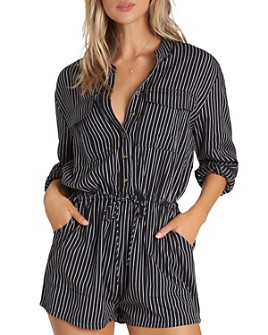 Billabong - Wake The Night Striped Romper